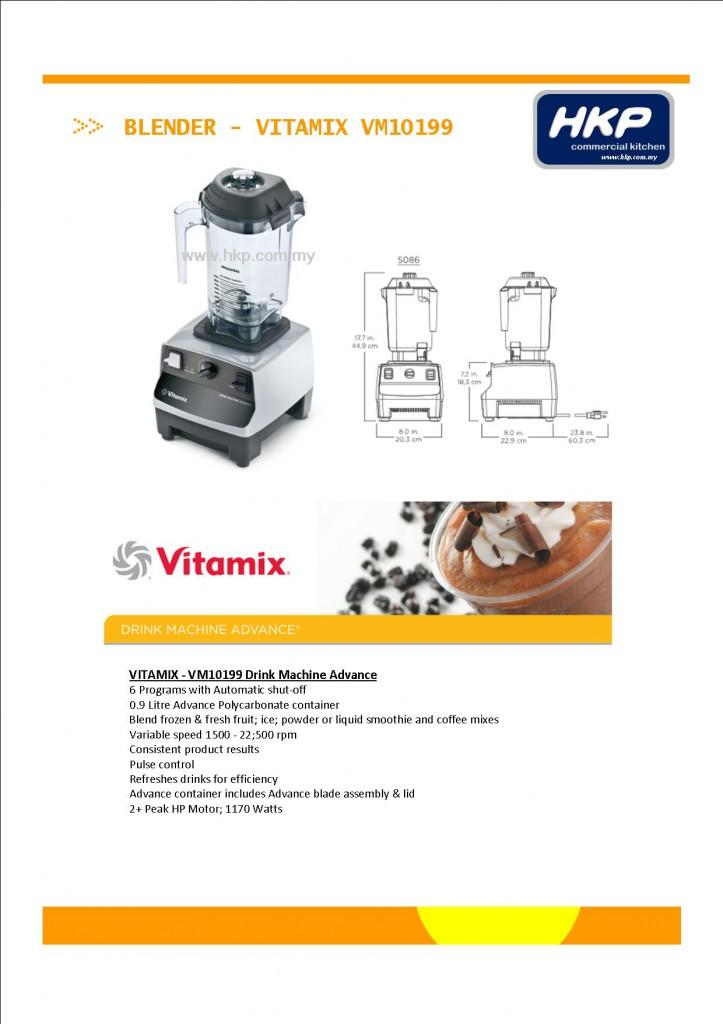 Blender-Vitamix VM10199