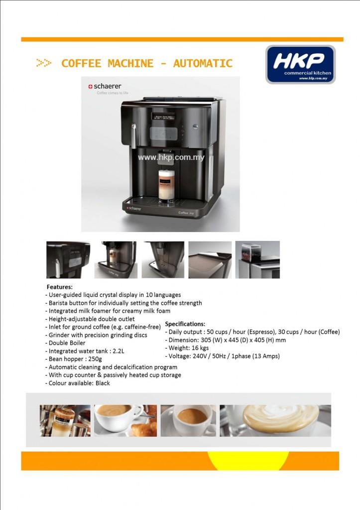 Coffee Machine-Automated