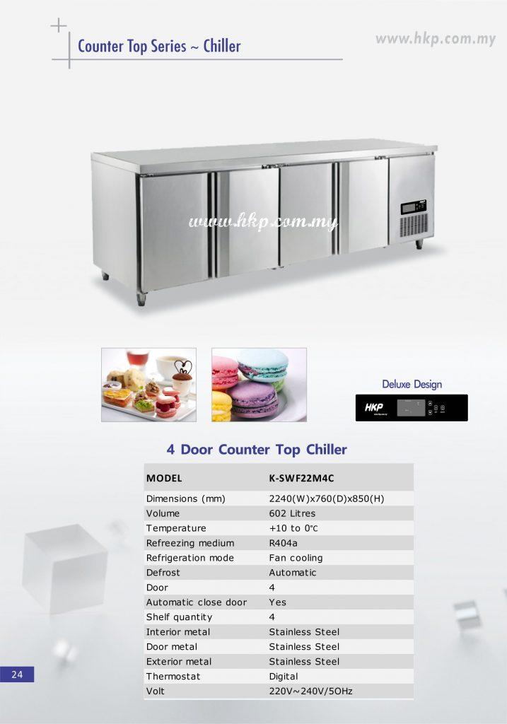 Counter top Chiller - 4 Door