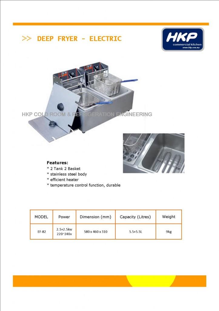 Deep Fryer (Electric)-Table Top (EF-82) (1)