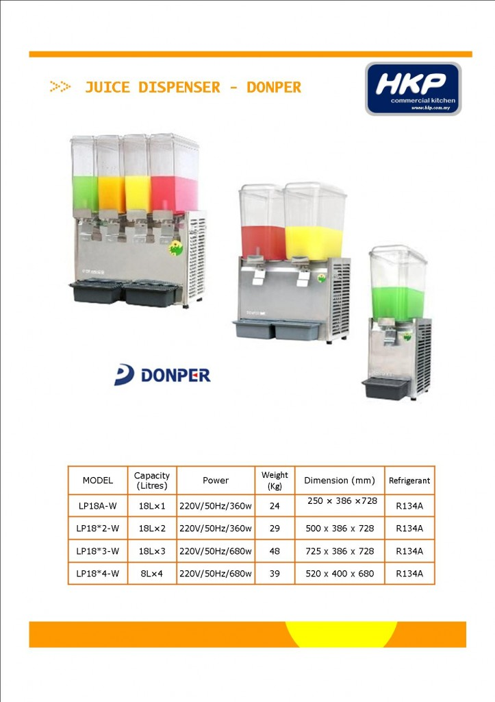 Juice Dispenser - Donper (1)