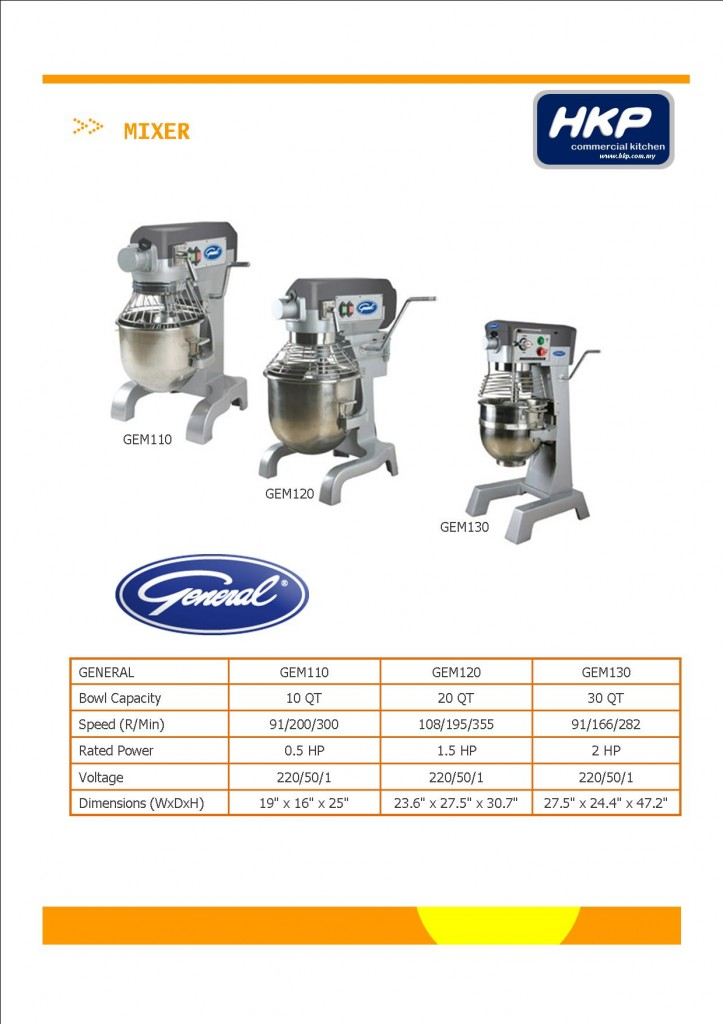 Mixer (General Brand)
