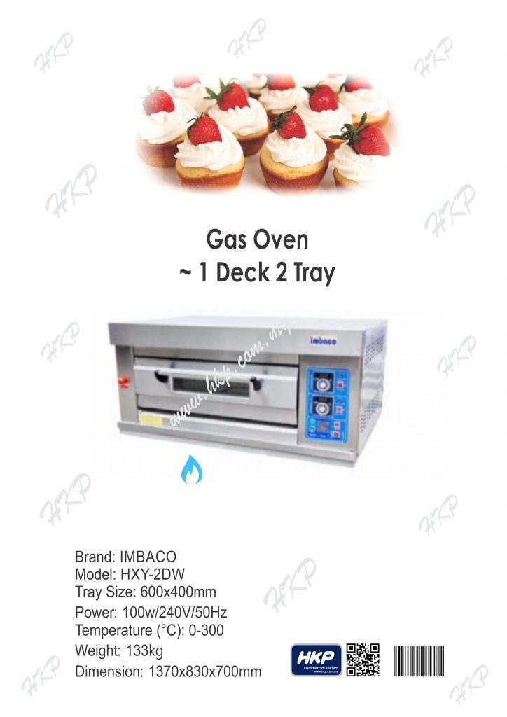Oven-Gas (Imbaco-1 Deck 2 Tray)