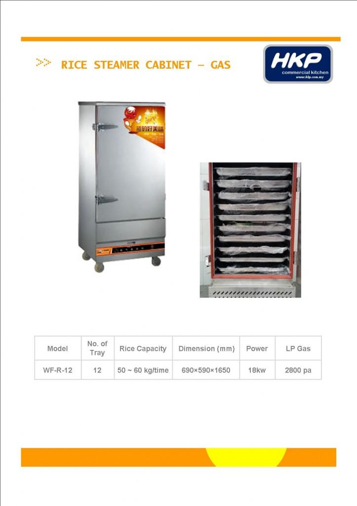 Rice Steamer Cabinet-Gas