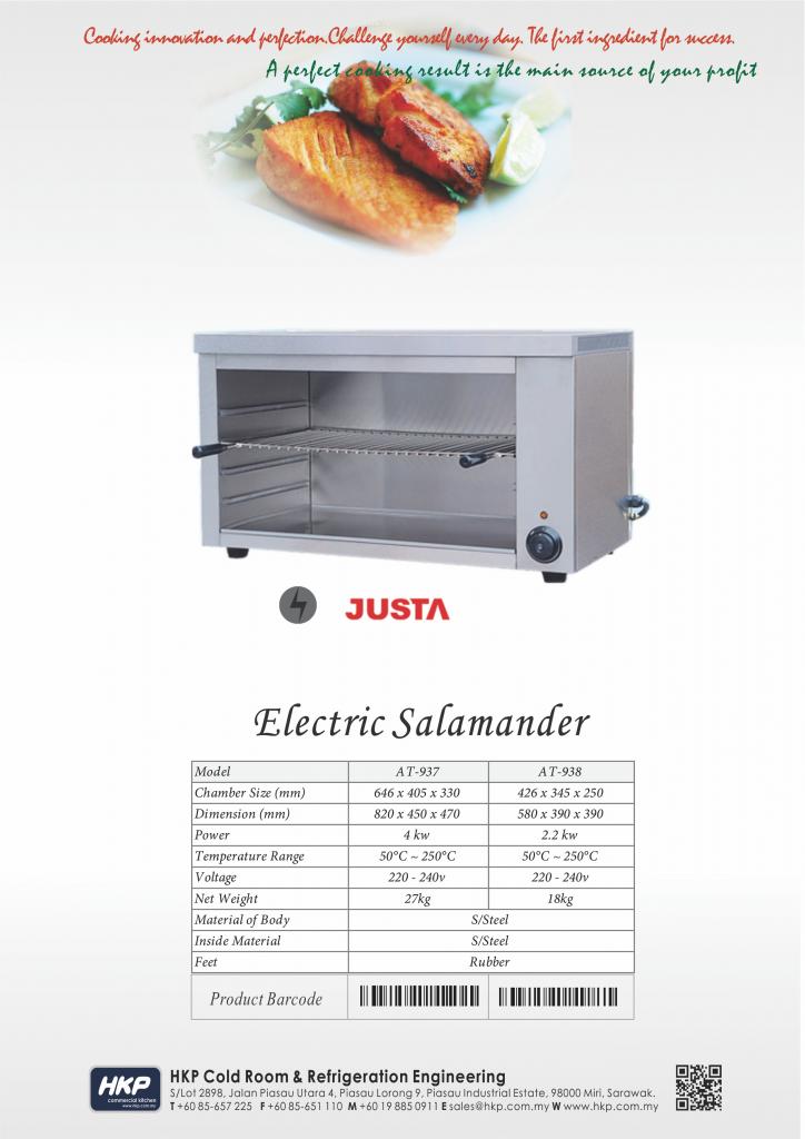 Salamander-Electric (Table Top)