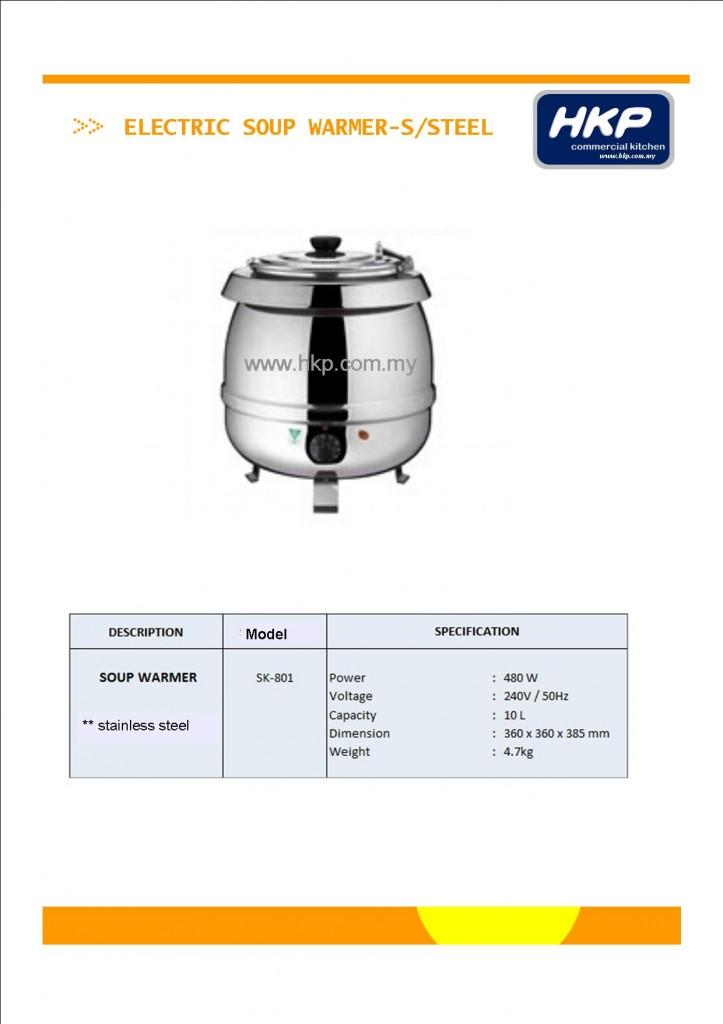 Soup Warmer-S.Steel