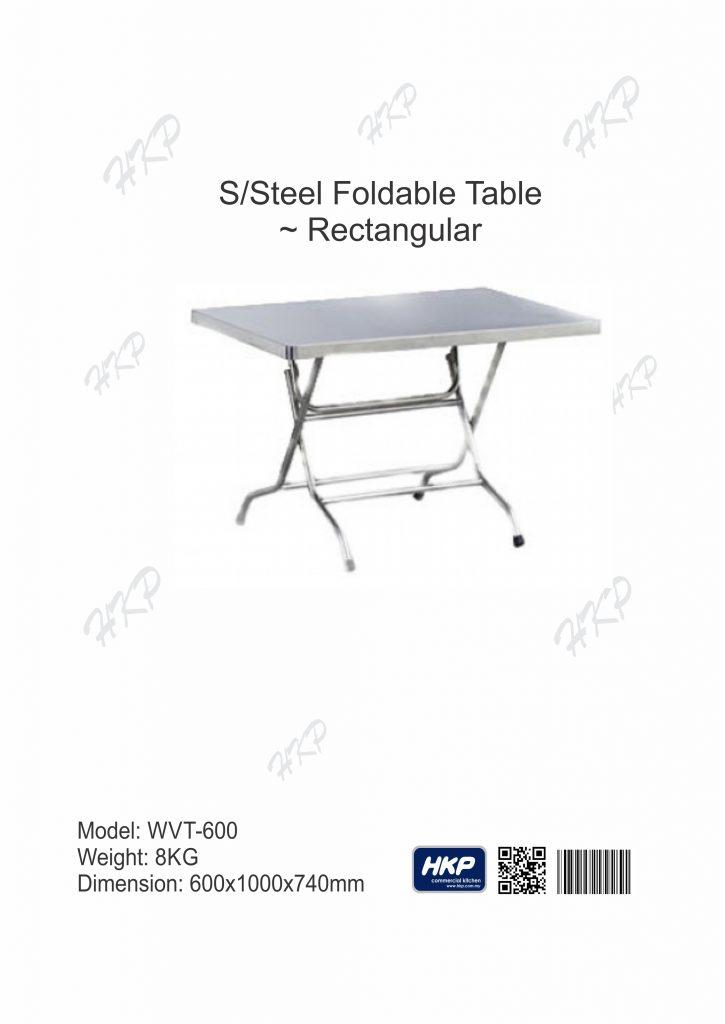 Foldable Table (WT-600)