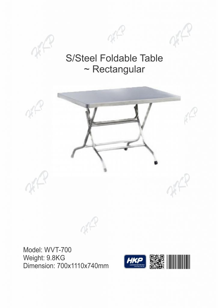 Foldable Table (WT-700)