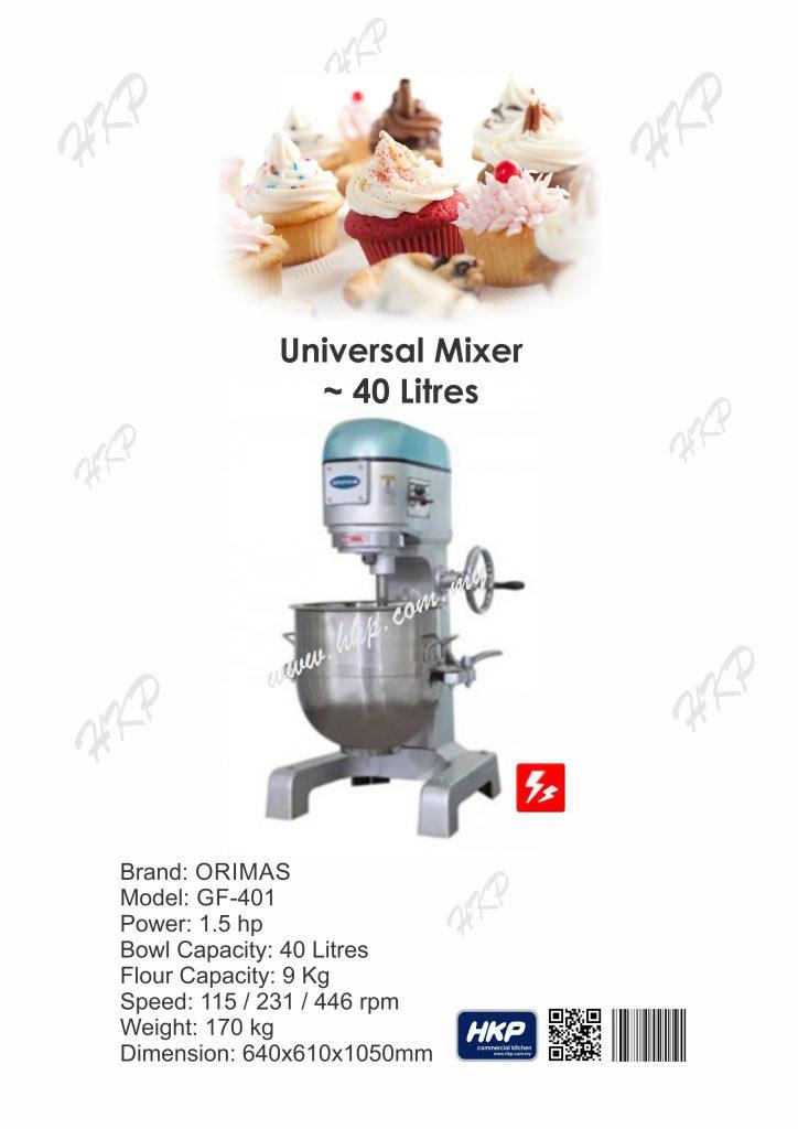 Mixer-GF401 (40 Litres)