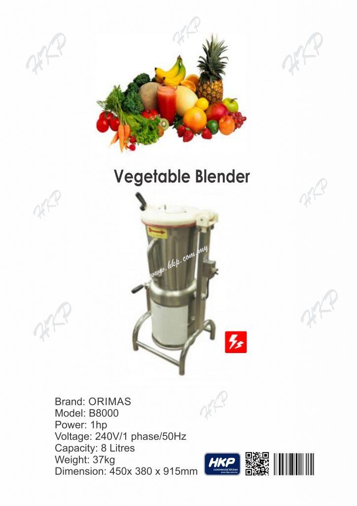 Blender-Vegetable (8 Litres)