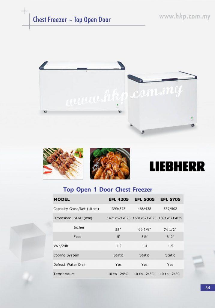 Chest Freezer Top Open - 1 Door (1)