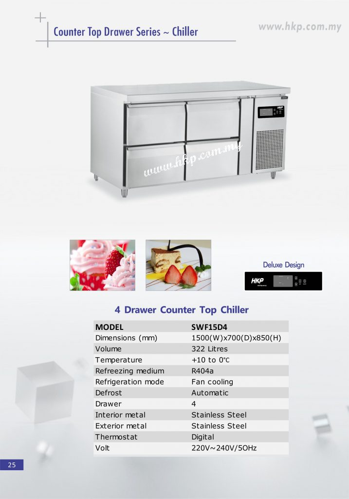 Counter Top Chiller - 4 Drawer