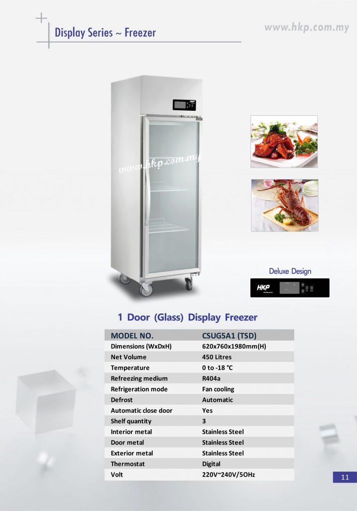 Display Freezer (Glass) - 1 Door TSD