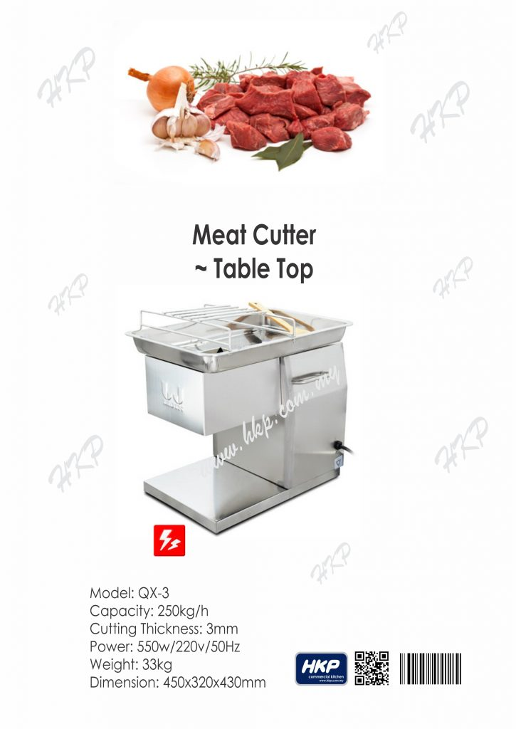 Meat Cutter-Table Top [QX-3]