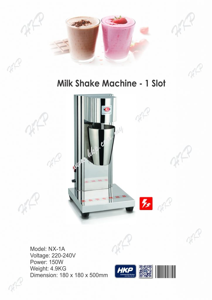 Milk Shake Machine-1 Slot