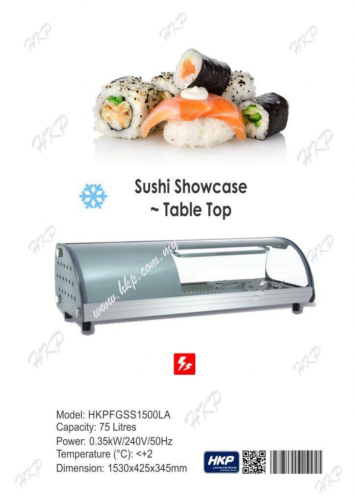 Sushi ShowCase [1500]