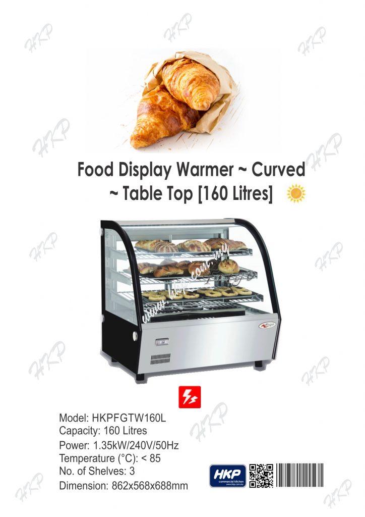 Warmer-Curve Glass (160L)