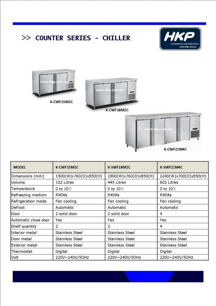 Counter Top Chiller (HKP)