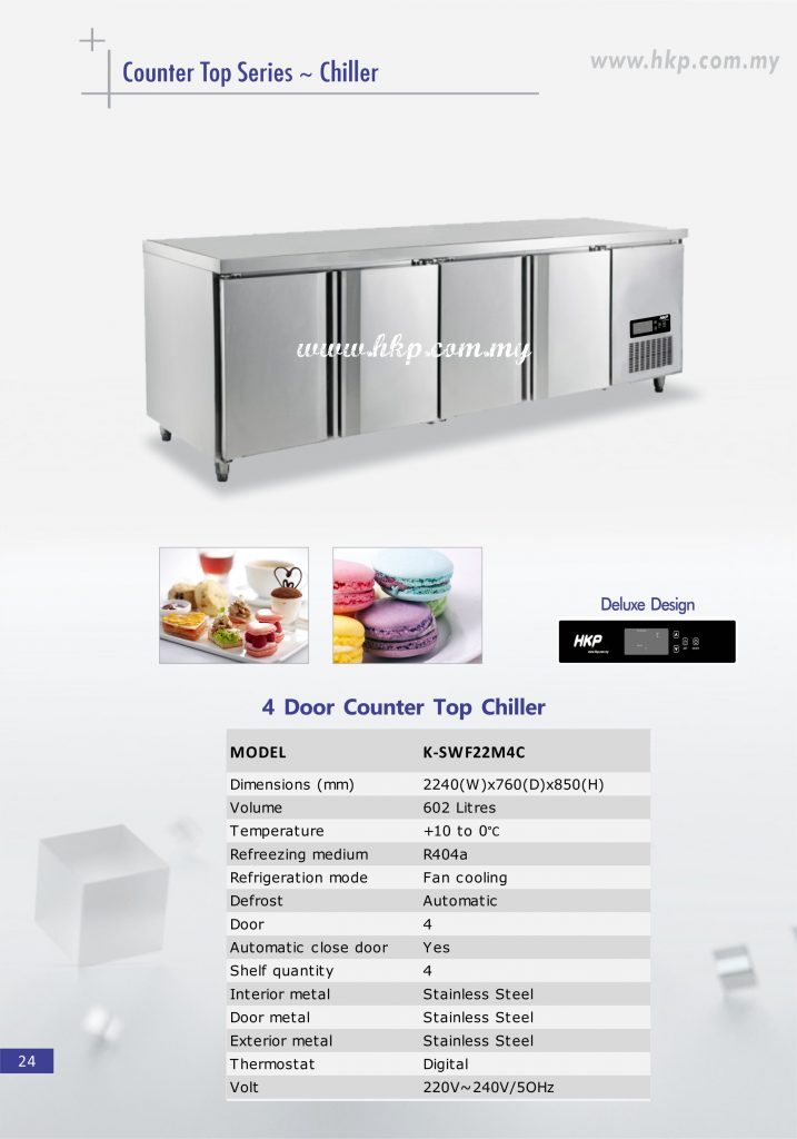 Counter top Chiller - 4 Door