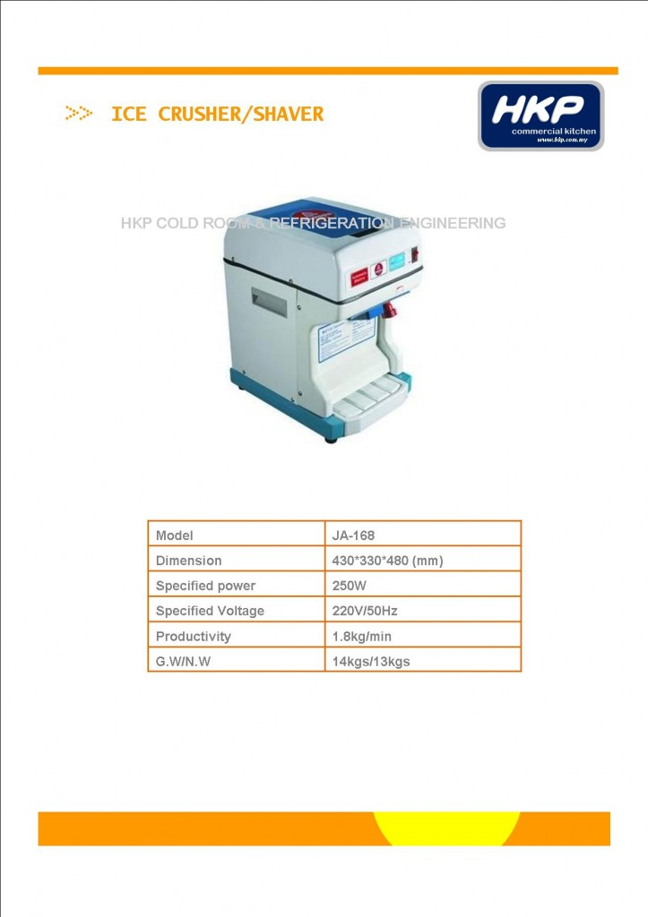 Ice Crusher JA-168 (Polar iceberg)
