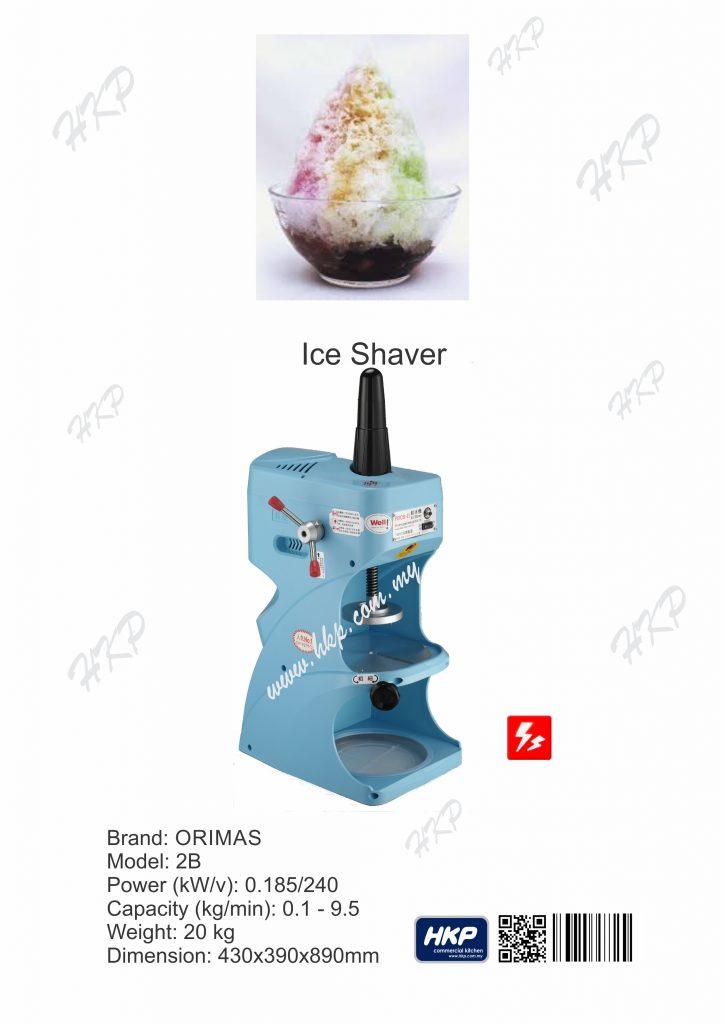 Ice Shaver (Orimas)-2B