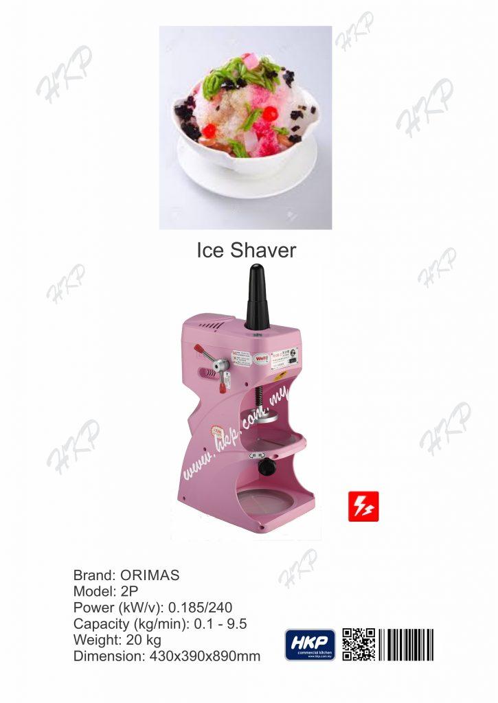 Ice Shaver (Orimas)-2P