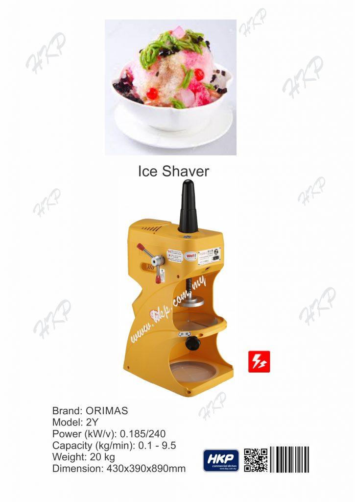 Ice Shaver (Orimas)-2Y