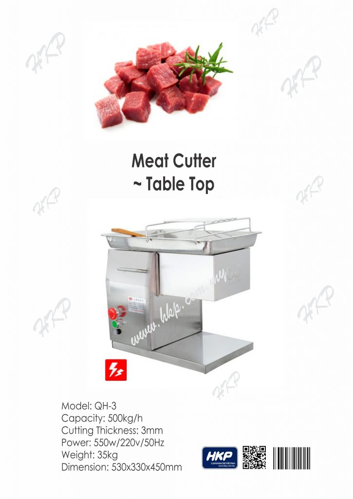 Meat Cutter-Table Top [QH-3]