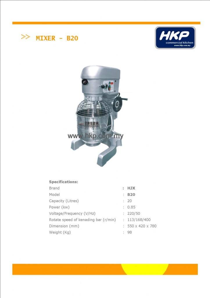 Mixer-B20