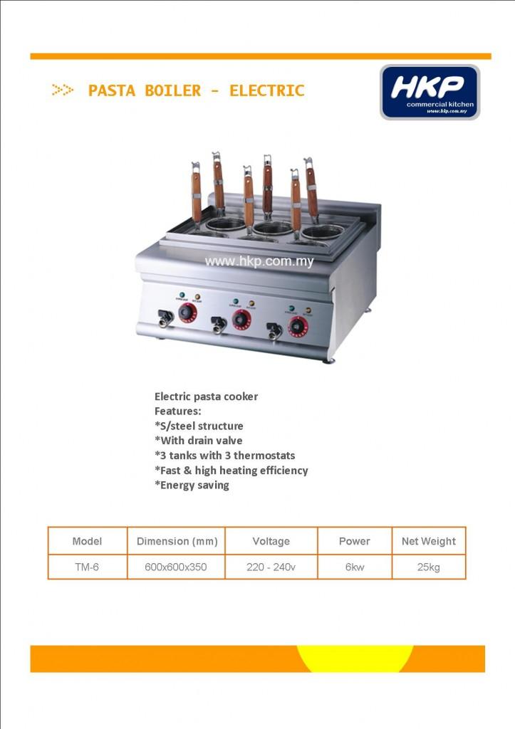 Pasta Boiler-Electric