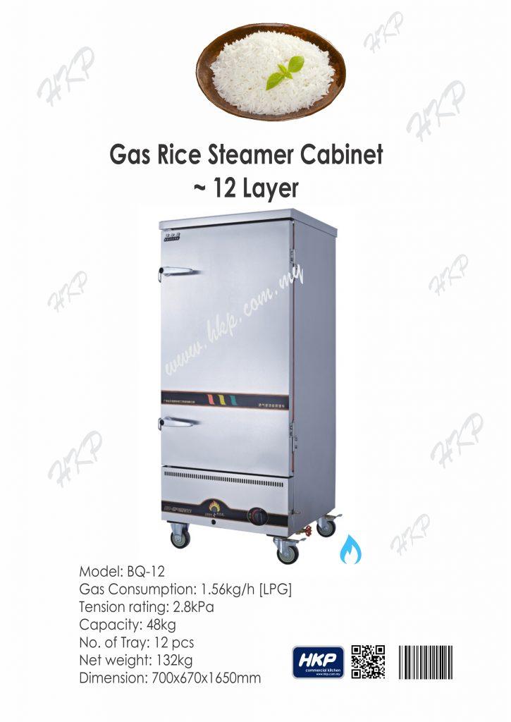 Rice Steamer Cabinet-Gas [BQ-12]