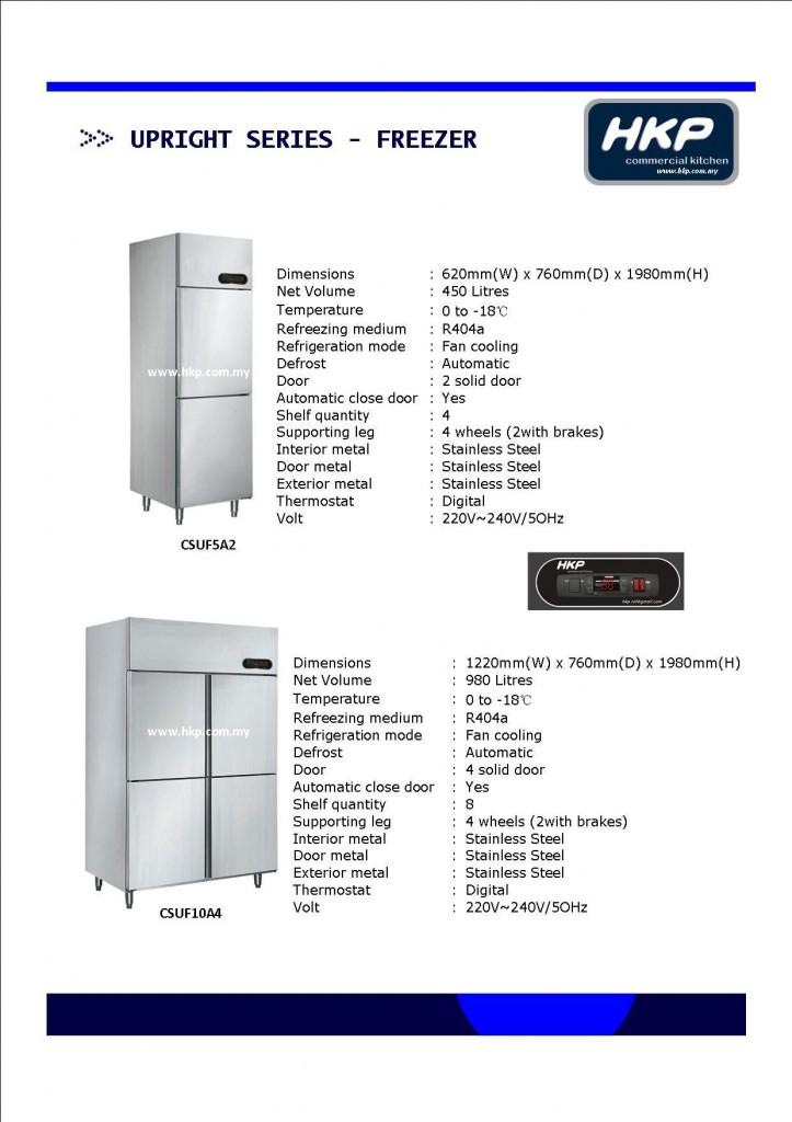 Upright Freezer (HKP)