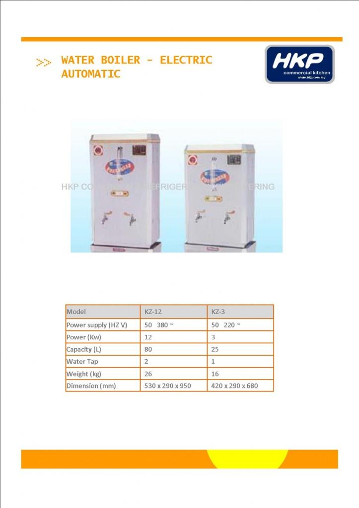Water Boiler (Electric) - 25L, 80L (1)