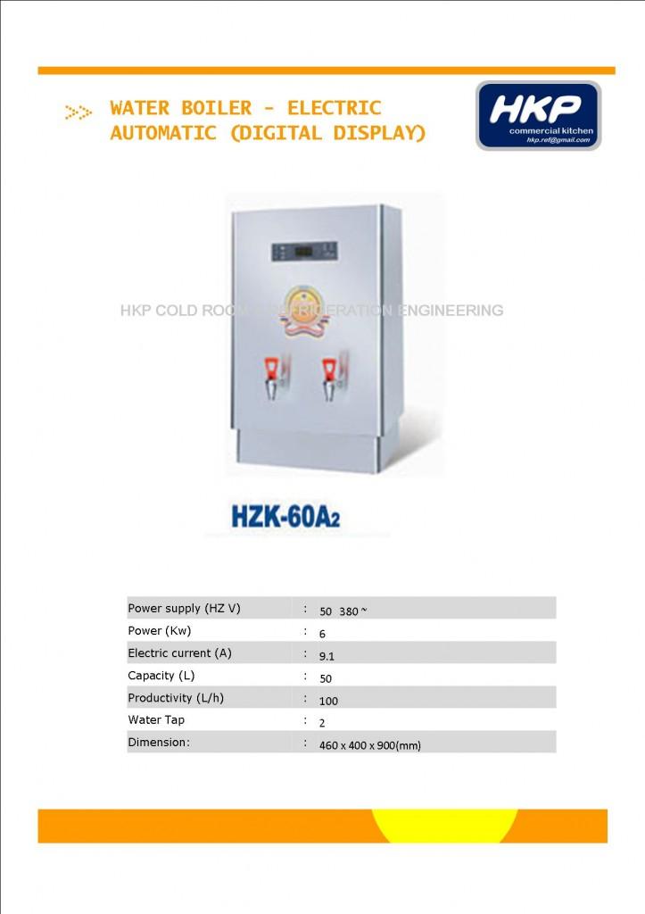 Water Boiler (Electric) - 50L (HZK-60Az)