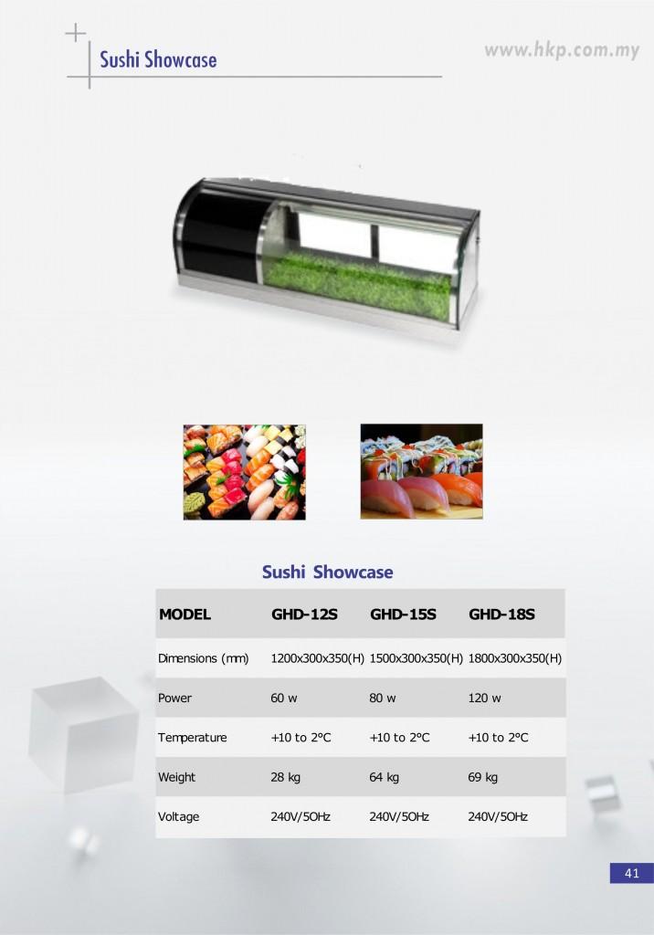 Sushi Showcase