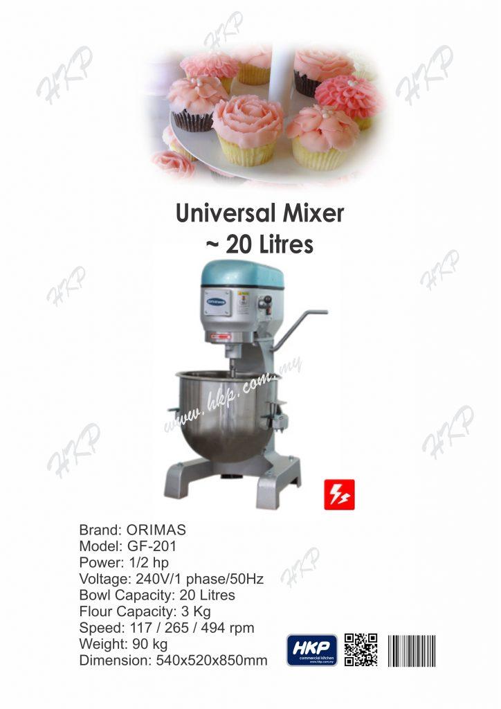 Mixer-GF201 (20 Litres)