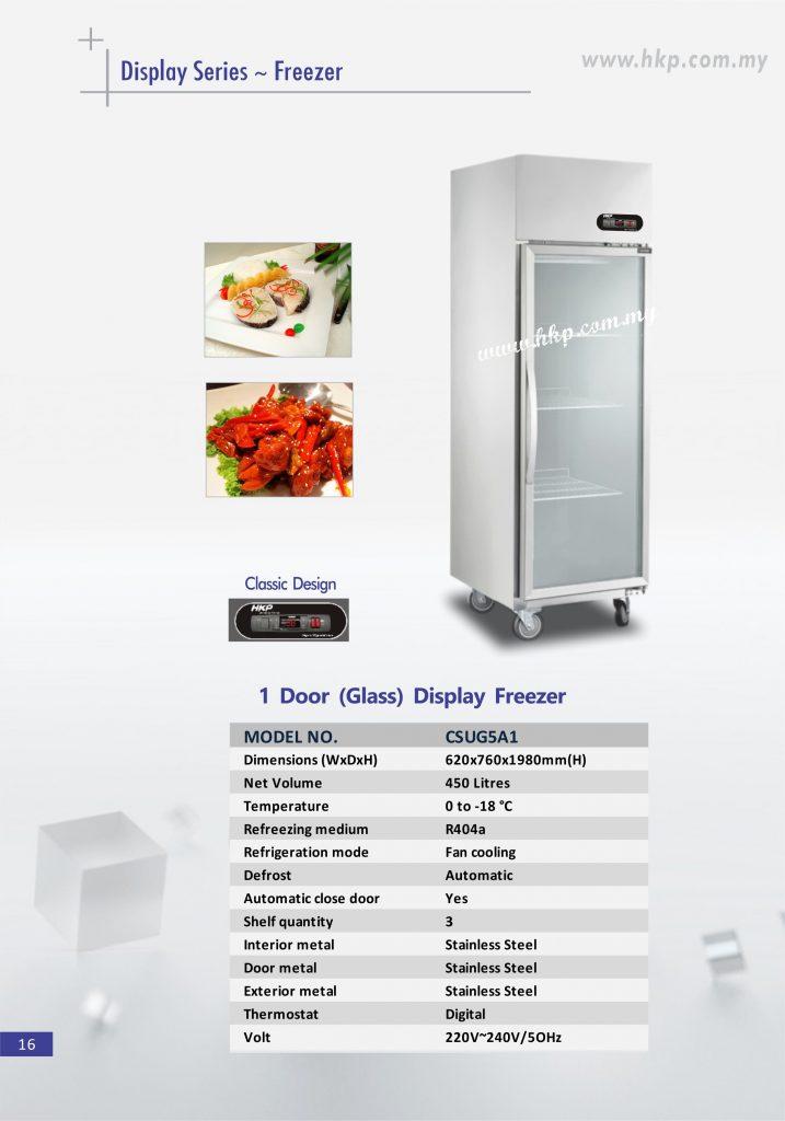 Display Freezer (Glass) - 1 Door TSD (1)