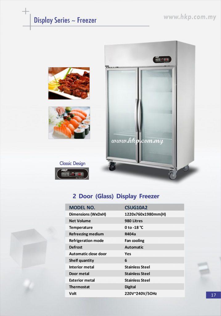 Display Freezer (Glass) - 2 Door