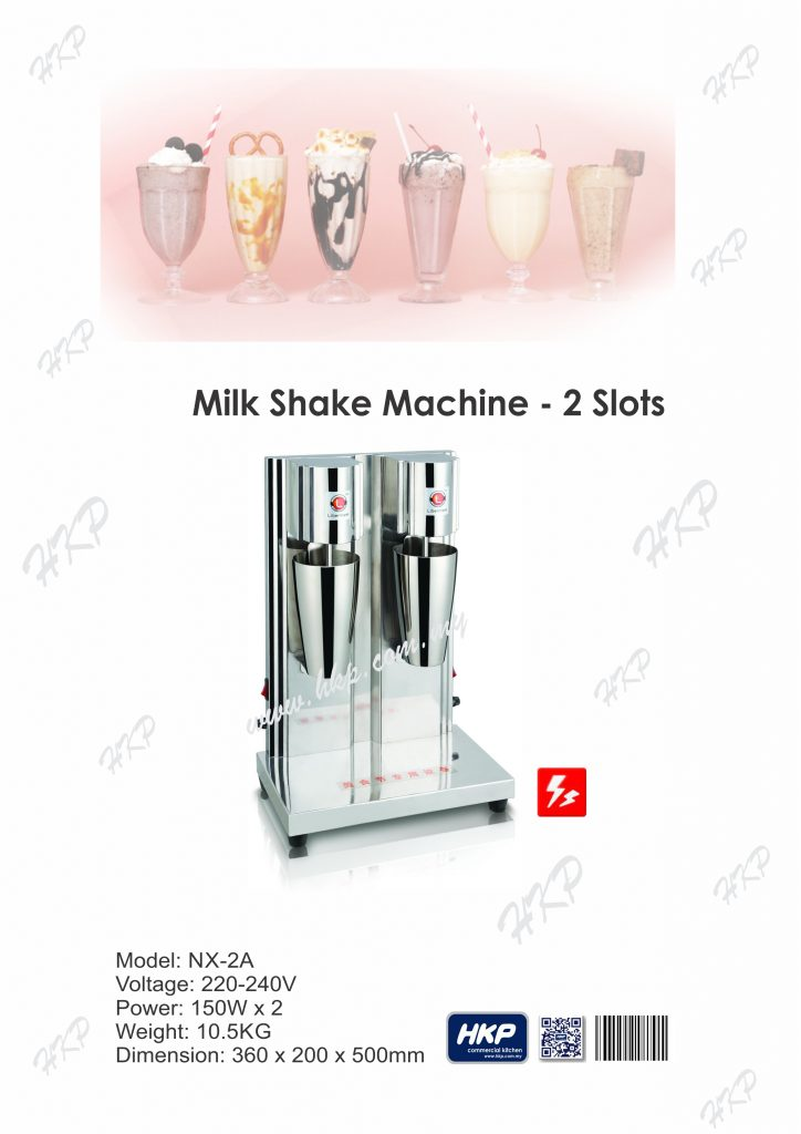 Milk Shake Machine-2 Slot
