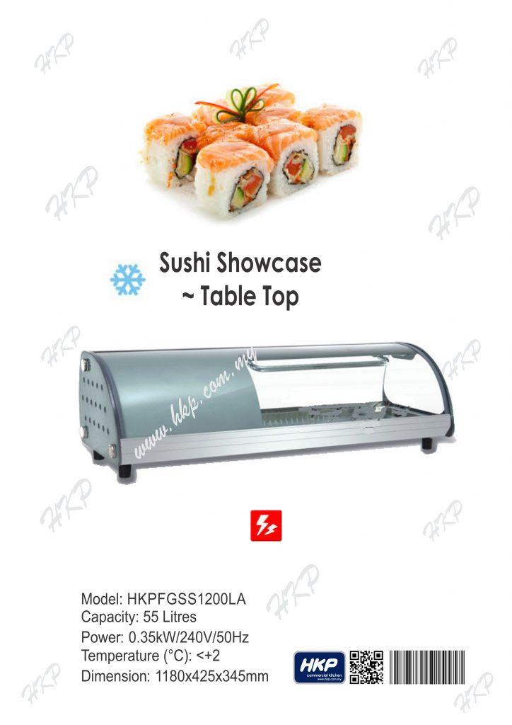 Sushi ShowCase [1200]
