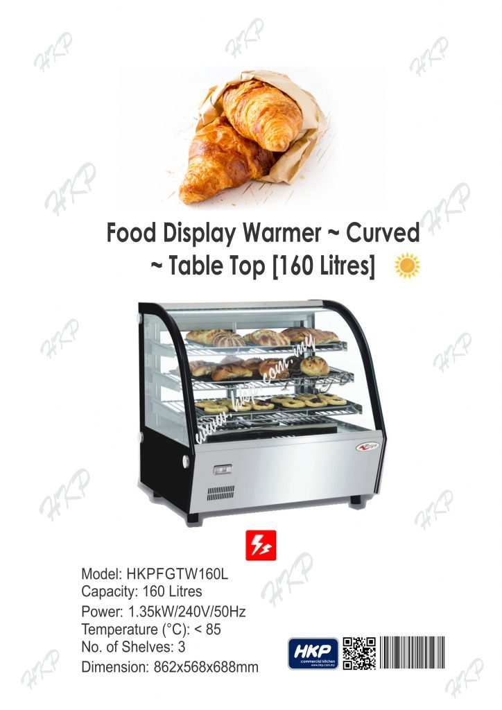 Warmer-Curve Glass (160L)